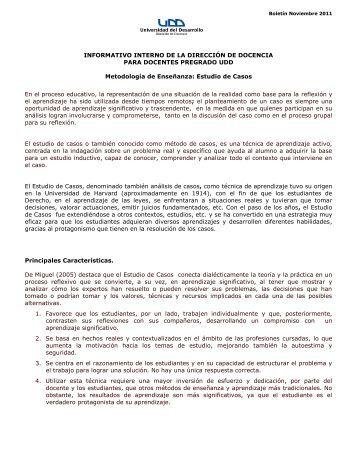 Estudio de Casos - Universidad del Desarrollo
