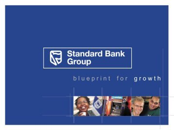 Retail Banking Analysts Day (6 June 2003) - Standard Bank ...
