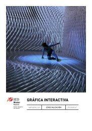 GRÁFICA INTERACTIVA - IED Madrid