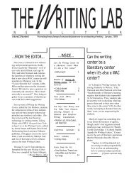 23.5 - The Writing Lab Newsletter