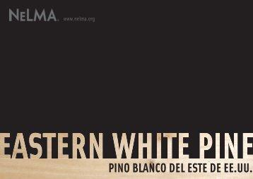PINO BLANCO DEL ESTE DE EE.UU.