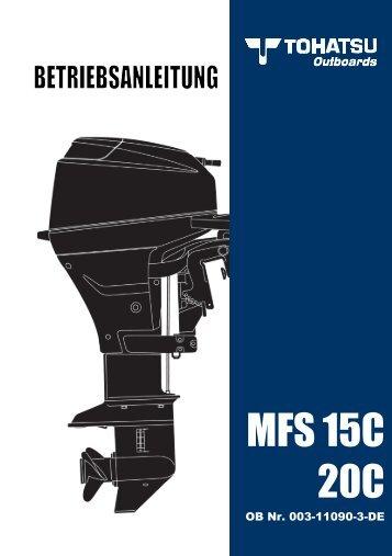 MFS 15C 20C - Tohatsu