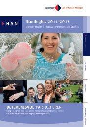 Studiegids 2011-2012 BETEKENISVOL PARTICIPEREN