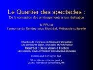 Liste des participants - Chambre de commerce du Montréal ...