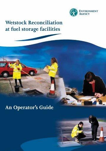 Wetstock Reconciliation at fuel storage facilities - Carrickfergus ...