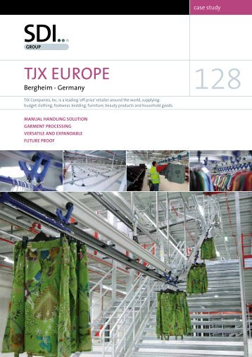 TJX EuropE - SDI Group