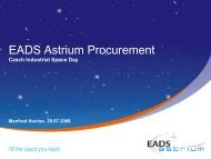 EADS Astrium Procurement