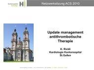 PCI bei ACS - NSTEMI - Kantonsspital St. Gallen
