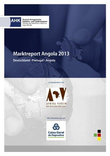 Marktreport Angola - AHK Portugal