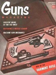 GUNS Magazine January 1955