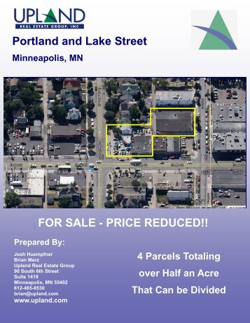 Portland and Lake Street FOR SALE - PRICE REDUCED!!