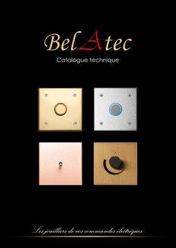 catalogue technique belatec. - BM Technic