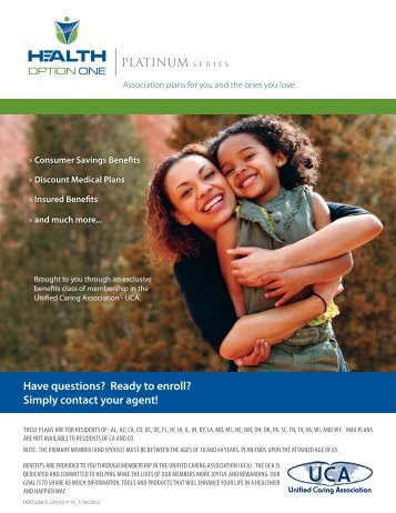 Simply contact your agent! - USA Benefits Group