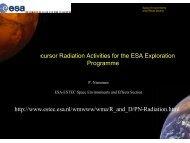 MeV /cm - Workshops on Radiation Monitoring for the International ...