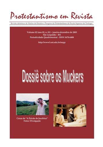 Protestantismo em Revista, volume 02 (ano 02, n.1) - Faculdades EST