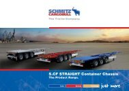 S.CF STRAIGHT Container Chassis - Schmitz Cargobull AG