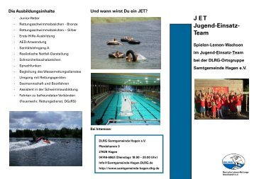 J E T  Jugend-Einsatz- Team - DLRG Ortsgruppe Samtgemeinde ...
