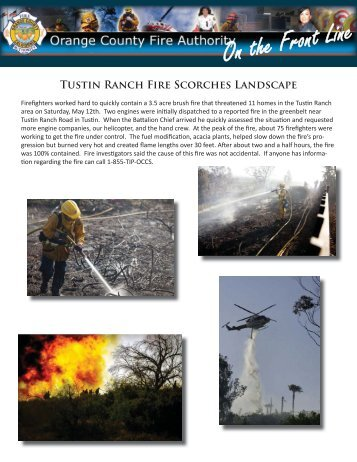 June 2012 News.indd - Orange County Fire Authority