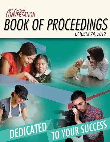 Book of Proceedings - Alamo Colleges