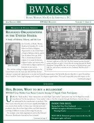 Bulletin Vol - Burke, Warren, MacKay & Serritella, PC