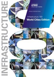 Infrastructure 100: World Cities Edition