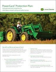 Tractors - Small - John Deere
