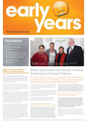 Issue Fifteen - May 2010 - Early Years
