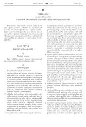 Vyhláška č. 55/2011 Sb.
