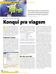 Konqui pra viagem - Linux New Media
