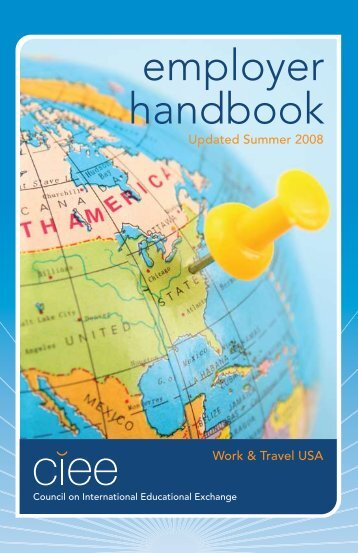 employer handbook - Council on International Educational Exchange