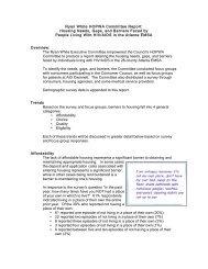 Ryan White HOPWA Committee Report: Housing ... - Living Room