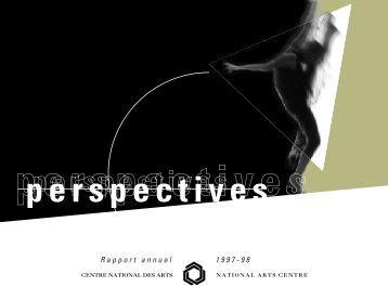 Rapport Annuel du CNA - National Arts Centre