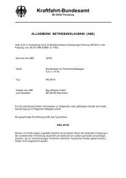 Kraftfahrt-Bundesamt - MAM Felgen
