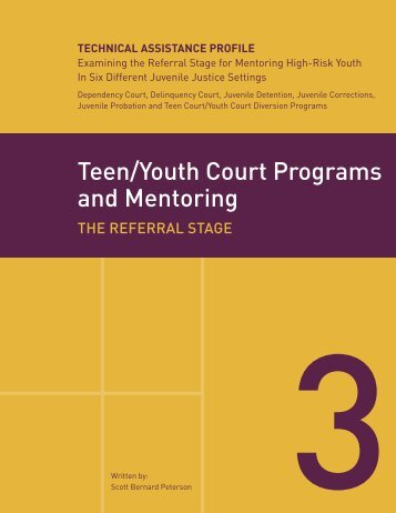 Winter Teen court program which
