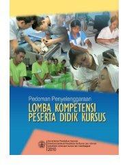Pedoman Lomba Kompetensi Peserta Didik Kursus Tahun 2010