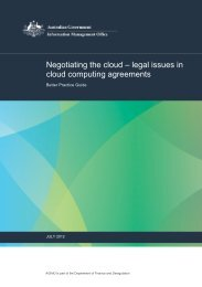 Negotiating in the cloud - legal issues in cloud ... - About AGIMO