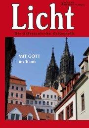 MIT GOTT im Team - Die Salesianische Zeitschrift