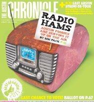 RADIO HAMS - The Austin Chronicle