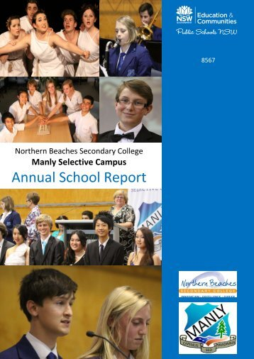 Annual School Report 2012 - Manly Selective Campus
