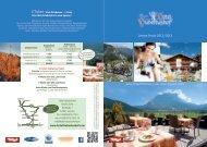 Unsere Preise 2012/2013 - Hotel Hubertushof