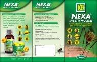 Scotts-KB presenta: NEXA® Insetti molesti - Clamer Informa