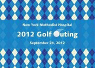 Golf Invite inside - New York Methodist Hospital