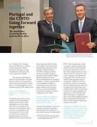 interview - Comprehensive Nuclear-Test-Ban Treaty Organization