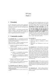 TP Unix Partie 1