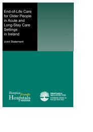 End-of-Life Care for Older People in Acute & Long-Stay Care Setting