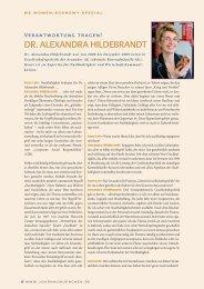 DR. ALEXANDRA HILDEBRANDT - Rudolf X. Ruter