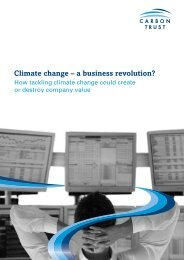 Climate change – a business revolution? - Klean Industries