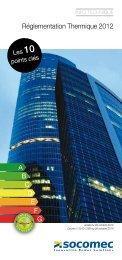 Réglementation Thermique 2012 - Socomec