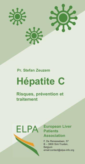 Le virus de l'hépatite C