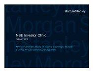 Investors' Clinic Presentation - The Nigerian Stock Exchange